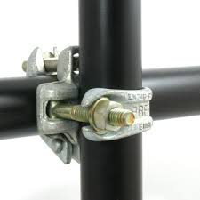 Scaffolding Fixed Clamps, Acoplador do andaime - acoplador dobro
